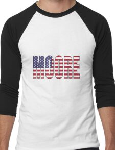 Moore (USA) Men's Baseball ¾ T-Shirt