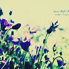 BLEU FLEUR by Laura E  Shafer