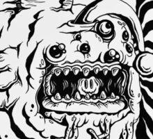 Spooky Angler Sticker