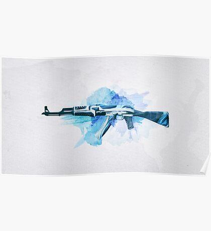 CS:GO AK-47 Vulcan Poster