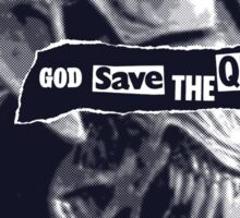 GOD SAVE THE QUEEN! Sticker