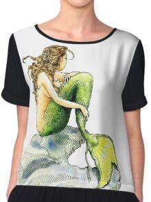 Hans Christian Andersen's The Little Mermaid Chiffon Top