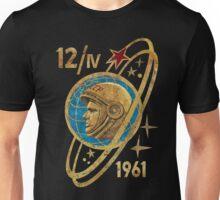CCCP Yuri Gagarin 12-4-1961 Unisex T-Shirt