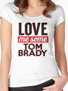 TOM BRADY Women's Fitted Scoop T-Shirt