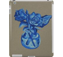 Blue Roses iPad Case/Skin