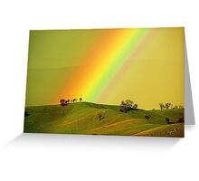 Rainbow above the Everton Hills Greeting Card