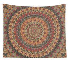 Mandala 128 Wall Tapestry