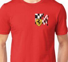 FERRARI AND FLAG Unisex T-Shirt