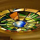 Glass dome of an hotel staircase by bubblehex08