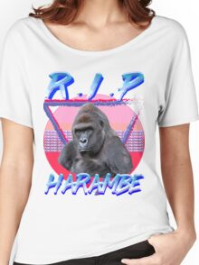 Harambe Vintage T-Shirt Women's Relaxed Fit T-Shirt