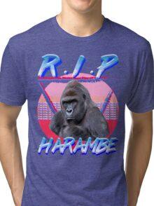 Harambe Vintage T-Shirt Tri-blend T-Shirt