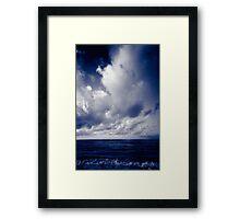 summer ver.blueblack Framed Print