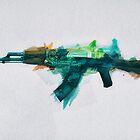 CS:GO AK-47 Fire Serpent by Hinata Lexy Lin