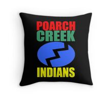 Poarch Band of Creek Indians Throw Pillow