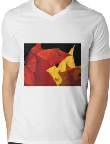 The Final Curtain Mens V-Neck T-Shirt