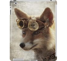 steampunk fox iPad Case/Skin