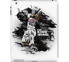 LeBron James - The King Returns iPad Case/Skin