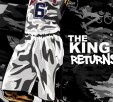 LeBron James - The King Returns Sticker