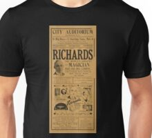 Performing Arts Posters Richards the worlds greatest magician and his big company the biggest stage show of the entire season 2931 Unisex T-Shirt
