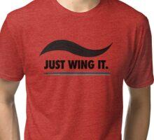 Just Wing It Tri-blend T-Shirt