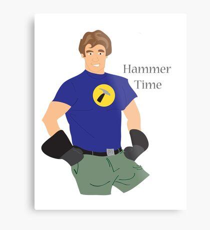 Hammer Time Metal Print