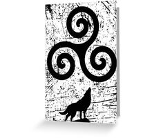 Beacon Hills Wolves Greeting Card
