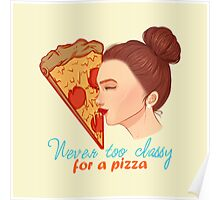 A Pizza Lover Poster