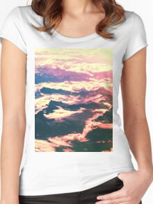 From Above Women's Fitted Scoop T-Shirt
