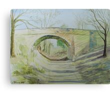 The Bridge Of More Or Less Canvas Print