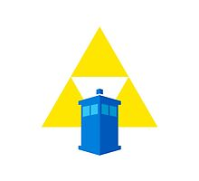 TARDIS Triforce! (White) by Zekrom9