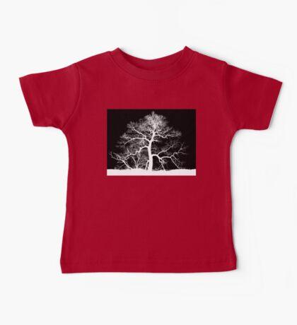 Skeleton Tree Baby Tee