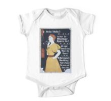 Performing Arts Posters Hello Hello Is that so Whitney Opera Co All right save me a box Whats the opera A Normandy wedding Thats funny Be sure and save the box 0380 One Piece - Short Sleeve