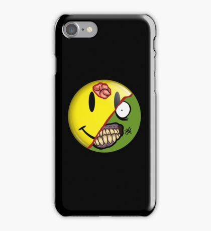 Zombie Happy Face iPhone Case/Skin