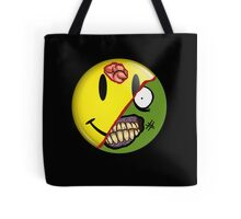 Zombie Happy Face Tote Bag
