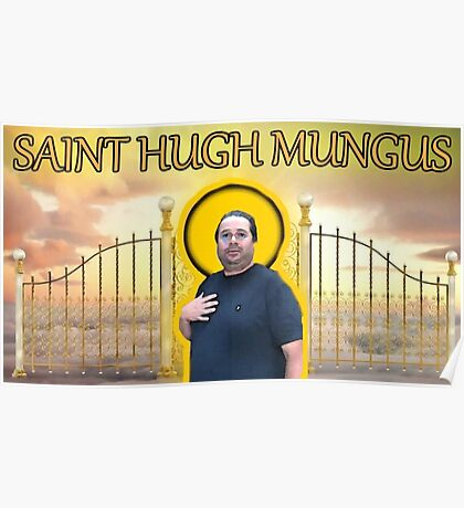 saint hugh mungus Poster