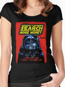 THE SEARCH FOR MORE MONEY Women's Fitted Scoop T-Shirt