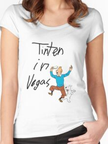 TinTen in Vegas Women's Fitted Scoop T-Shirt