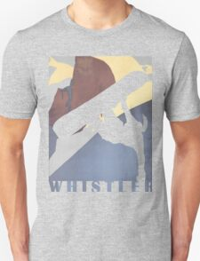 Whistler Mountain Snowboarding Betty, winter sport Unisex T-Shirt