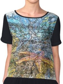 The Atlas of Dreams - Color Plate 199 Chiffon Top