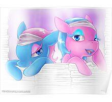 Spa Ponies Poster