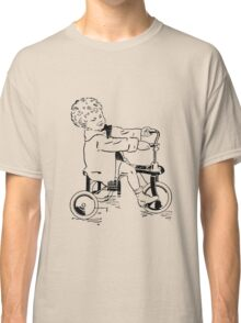 Vintage 30s Tricycle Boy Classic T-Shirt