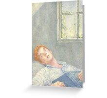 Dreaming Martin Greeting Card