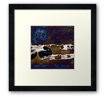 Samhain II. Winter Approaching  / abstract painting Framed Print