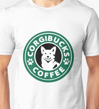 Corgibucks Coffee Unisex T-Shirt