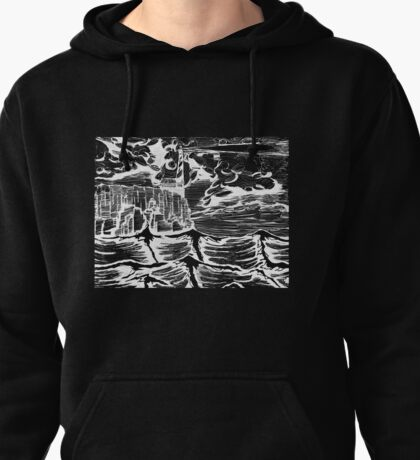 Lighthouse landscape Pullover Hoodie