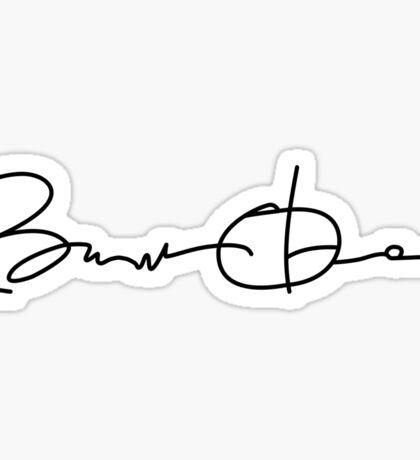 Barack Obama Signature  Sticker