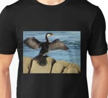 Little Pied Cormorant, Bermagui, NSW, Australia. Unisex T-Shirt