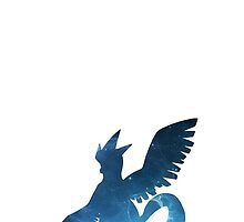 144-Articuno-Space Theme Phone Case by TomsTops