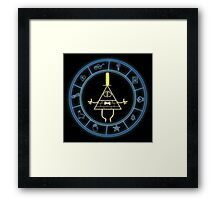 """Bill's Wheel"" from Gravity Falls Framed Print"