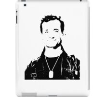Bill Murray Stripes - Black Outline iPad Case/Skin